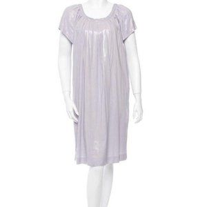 NWT Alberta Ferretti NWT Metallic lavender dress